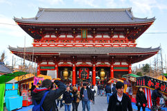 Sensoji Temple Royalty Free Stock Photography