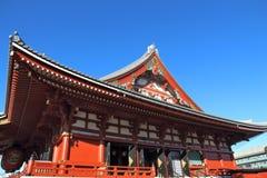 Sensoji Temple, Asakusa. Asakusa, Tokyo - Sensoji temple. Old wooden landmark Stock Image