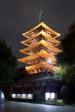 Sensoji temple in Asakusa, Tokyo, Japan Royalty Free Stock Photography
