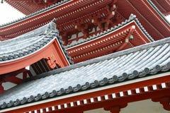 Sensoji Temple, Asakusa, Tokyo, Japan Stock Photos
