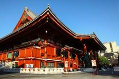 Sensoji temple in Asakusa, Tokyo. The most famous temple in Tokyo Stock Image
