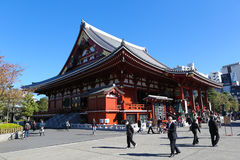 Sensoji temple in Asakusa, Tokyo Stock Photo