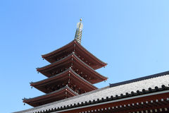 Sensoji temple is a Buddhist temple located in Asakusa, Tokyo, J Stock Photos