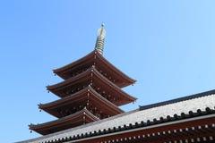 Sensoji temple is a Buddhist temple located in Asakusa, Tokyo, J Stock Photos
