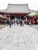 Sensoji temple - 2014 November 5 : Sensoji (also known as Asakus Stock Image
