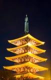 Sensoji temple Stock Photo