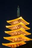 Sensoji temple Pagoda tokyo Stock Photography