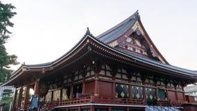 Sensoji temple sunset Stock Photos