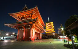 Sensoji temple in Tokyo Royalty Free Stock Photo