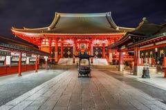 Sensoji Temple in Tokyo Stock Photos