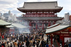 Sensoji Temple in Tokyo Royalty Free Stock Photography