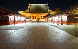 Sensoji temple Tokyo Japan Royalty Free Stock Photos
