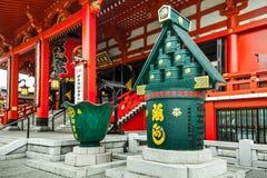 Sensoji Temple in Tokyo, Japan Stock Image