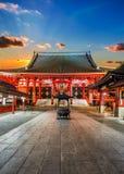 Sensojitempel (Asakusa Kannon) in Tokyo Royalty-vrije Stock Afbeeldingen