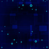 Sensor board Stock Image