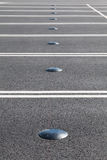 Sensor del estacionamiento del coche Fotografía de archivo