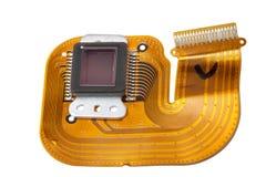 Sensor of the digital camera Royalty Free Stock Image