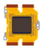 Sensor of digital camera close-up Royalty Free Stock Image