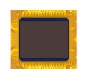 Sensor of digital camera close-up Royalty Free Stock Photo