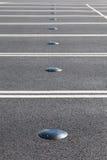 Sensor do estacionamento do carro fotografia de stock