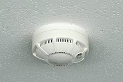 Sensor la alarma de incendio Fotografía de archivo