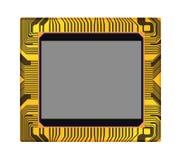 Sensore della macchina fotografica digitale, illustrat di vettore Fotografia Stock