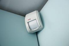 Sensore domestico dell'impianto antifurto Fotografia Stock