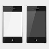 Sensoriska mobiltelefoner Stock Illustrationer