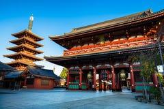 Sensouji świątynia Obrazy Stock