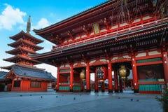 Sensouji tempel Fotografering för Bildbyråer