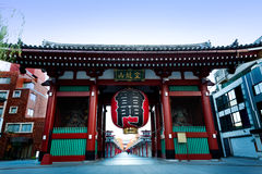 Sensouji temple Royalty Free Stock Photos