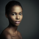 Sensual African Woman Royalty Free Stock Photos