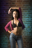 Sensual asian fashion girl Stock Photo