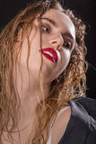Sensual beautiful blond Stock Images