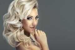 Sensual beautiful blonde woman Royalty Free Stock Photo