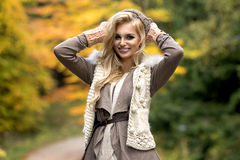 Sensual beautiful blonde woman Stock Photo