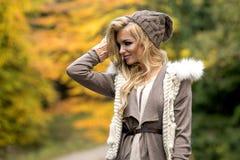 Sensual beautiful blonde woman Royalty Free Stock Image