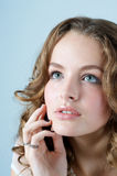 Sensual Beautiful Woman Face Royalty Free Stock Photo