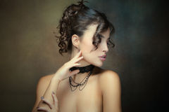 Sensual beauty Royalty Free Stock Photography