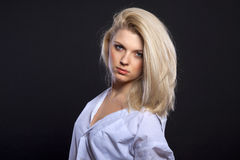 Sensual blond Royalty Free Stock Image