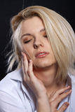 Sensual blond Stock Image
