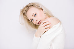 Sensual blond Stock Photography