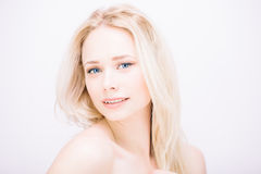 Sensual blond Royalty Free Stock Photos