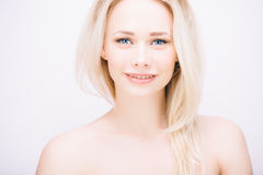 Sensual blond Royalty Free Stock Photo