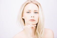 Sensual blond Royalty Free Stock Photography