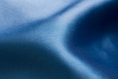 Sensual blue silk Royalty Free Stock Images