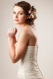 Sensual bride Royalty Free Stock Photography
