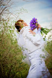 Sensual bride Royalty Free Stock Images