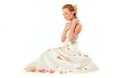 Sensual bride Stock Photos