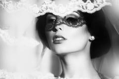 Sensual bride outdoor Royalty Free Stock Photo